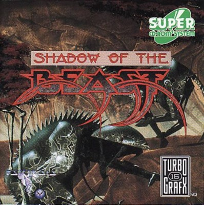 Shadow of the Beast Cover Art