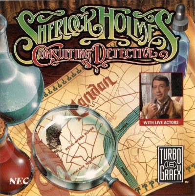 Sherlock Holmes: Consulting Detective Cover Art