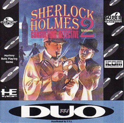 Sherlock Holmes: Consulting Detective Volume II Cover Art