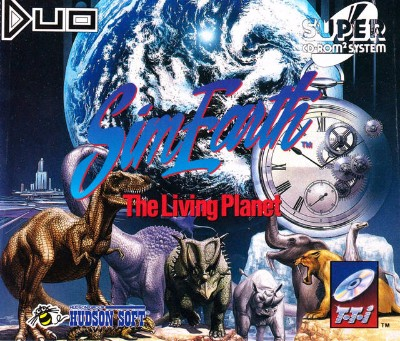 SimEarth: The Living Planet Cover Art