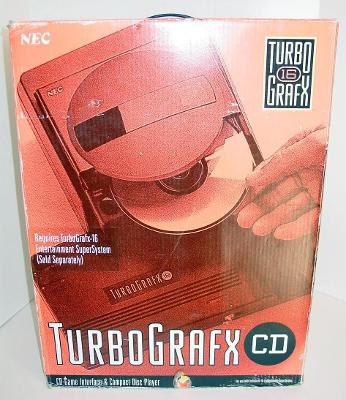 TurboGrafx CD Cover Art