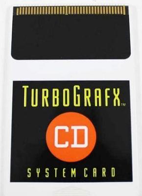 TurboGrafx System Card Cover Art