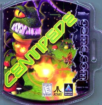 Centipede Cover Art