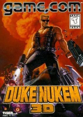 Duke Nukem 3D Cover Art