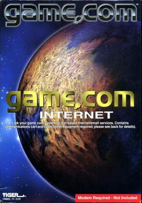 Game.com Internet Cover Art