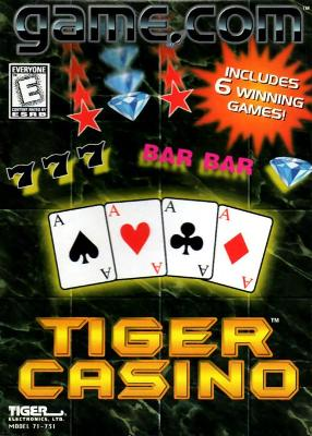 Tiger Casino Cover Art