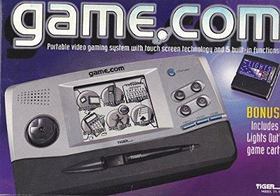 Tiger Game.com Handheld Console Cover Art