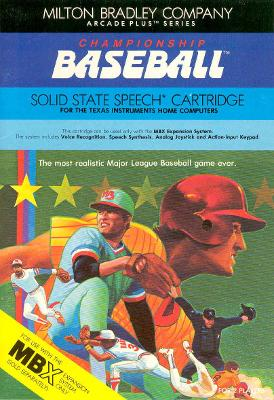 Championship Baseball Cover Art