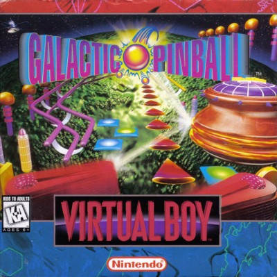 Galactic Pinball Cover Art