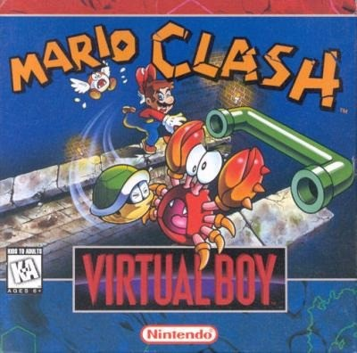 Mario Clash Cover Art