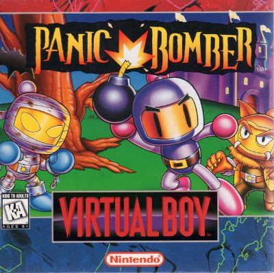 Panic Bomber Cover Art