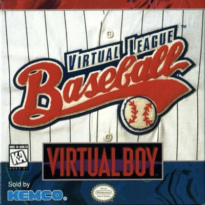 Virtual League Baseball Cover Art