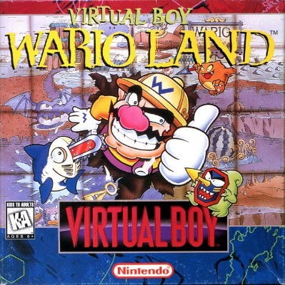 Wario Land Cover Art
