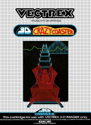 3D Crazy Coaster Cover Art