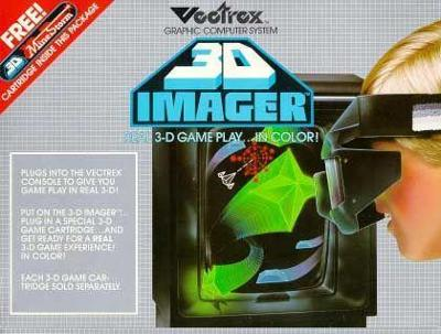 Vectrex: 3D Imager Cover Art