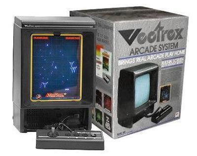Vectrex Arcade Console Cover Art