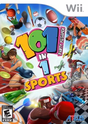 101-in-1 Sports Party Megamix Cover Art