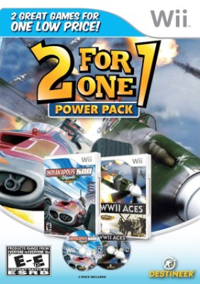 2 For 1 Power Pack: Indianapolis 500 / WWII Aces