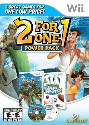 2 For 1 Power Pack: Kawasaki Jet Ski / Summer Sports Cover Art