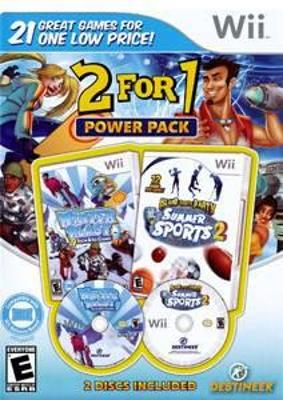 2 For 1 Power Pack: Winter Blast / Summer Sports Cover Art