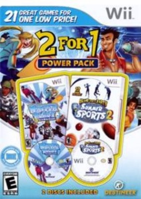 2 For 1 Power Pack: Winter Blast / Summer Sports