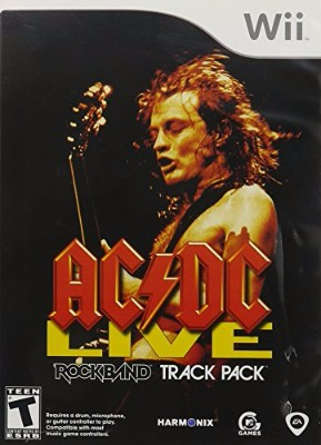AC/DC Live: Rock Band Track Pack Cover Art