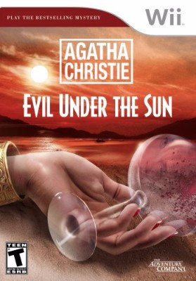 Agatha Christie: Evil Under the Sun Cover Art