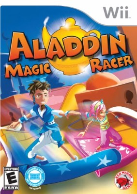 Aladdin: Magic Racer Cover Art