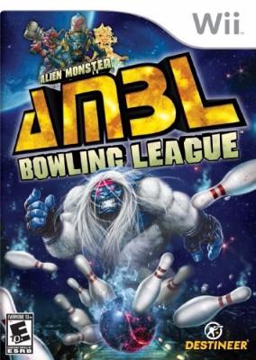 Alien Monster Bowling League Cover Art