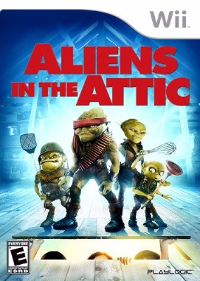Aliens in the Attic Cover Art
