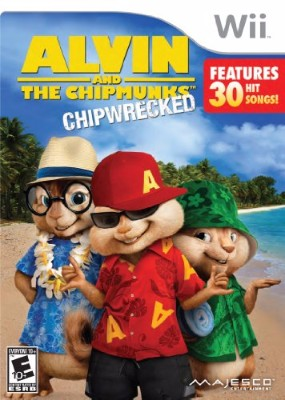 Alvin and The Chipmunks: Chipwrecked Cover Art