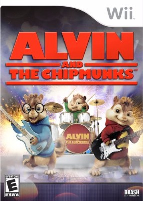 Alvin and The Chipmunks: The Game Cover Art