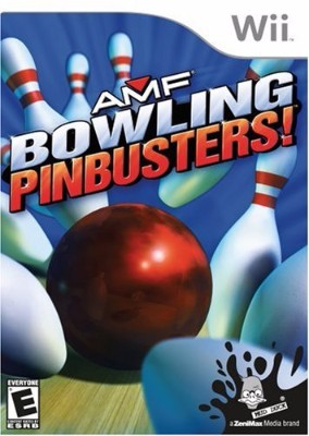AMF: Bowling Pinbusters Cover Art