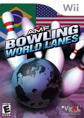 AMF: Bowling World Lanes Cover Art