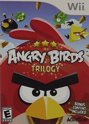 Angry Birds Trilogy Cover Art