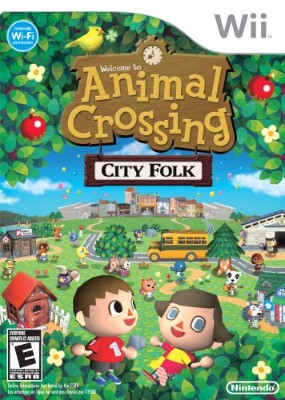 Animal Crossing: City Folk Cover Art