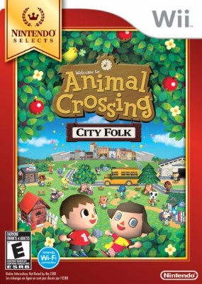 Animal Crossing: City Folk [Nintendo Selects] Cover Art
