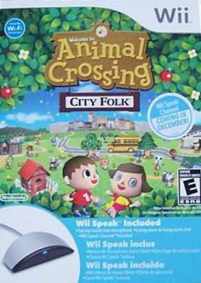 Animal Crossing: City Folk & Wii Speak [Bundle] Cover Art