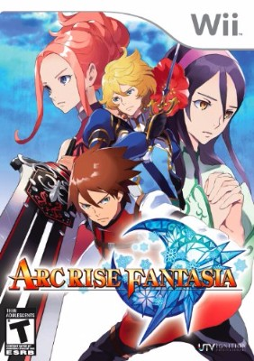 Arc Rise Fantasia Cover Art
