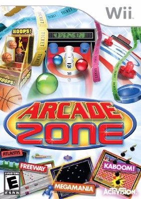 Arcade Zone Cover Art