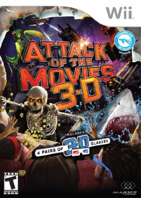 Attack of the Movies 3D Cover Art