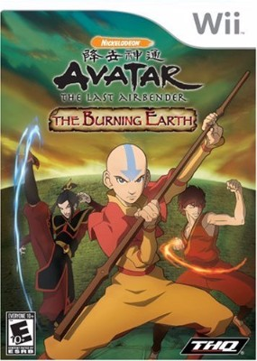 Avatar: The Last Airbenders: The Burning Earth Cover Art