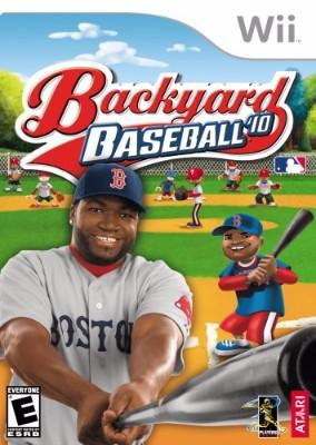 Backyard Baseball '10 Cover Art