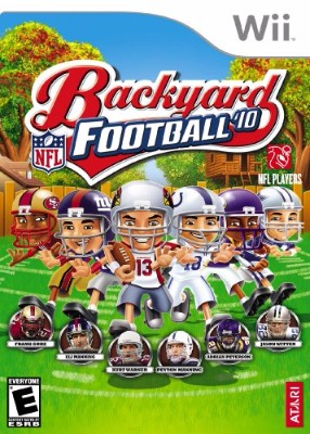 Backyard Football '10 Cover Art