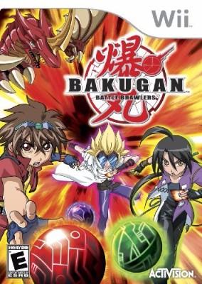 Bakugan Battle Brawlers Cover Art