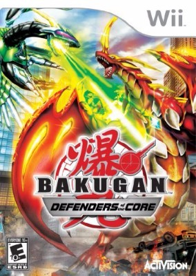 Bakugan: Defenders of the Core Cover Art