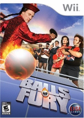 Balls of Fury Cover Art
