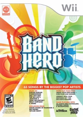 Band Hero Cover Art