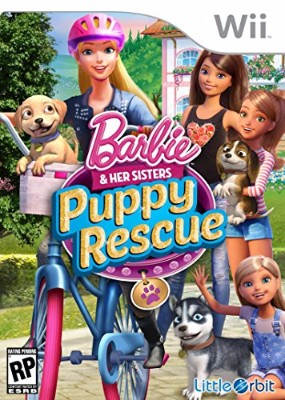 Barbie and Her Sisters: Puppy Rescue Cover Art