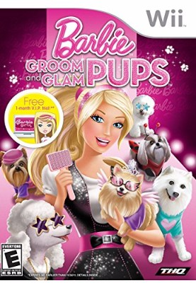 Barbie: Groom and Glam Pups Cover Art